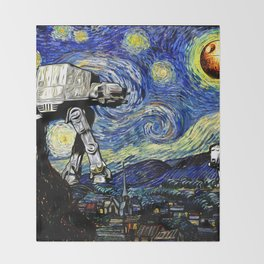 Starry Night versus the Empire Throw Blanket
