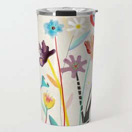 Merry Christmas Bird  Travel Mug