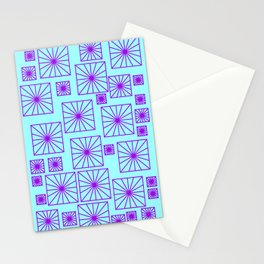 SKYBLUE SQUARE Stationery Cards