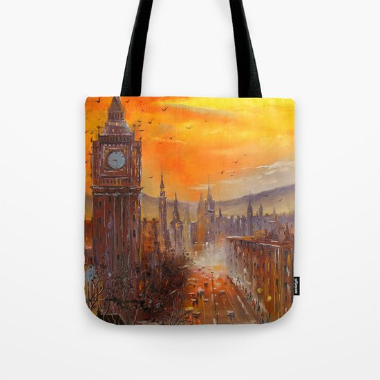 London Evening Tote Bag