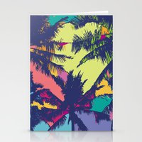 palm tree Stationery Cards featuring Palm tree by PINT GRAPHICS