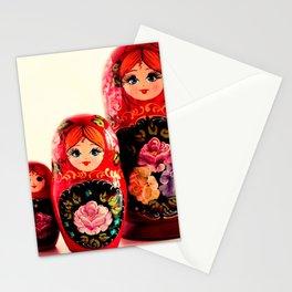 Babushka Russian Doll Stationery Cards