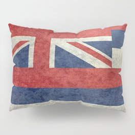 The State flag of Hawaii - Vintage version Pillow Sham
