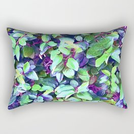 Magical, Fantasy Fairytale Forest Colorful Leaves Rectangular Pillow