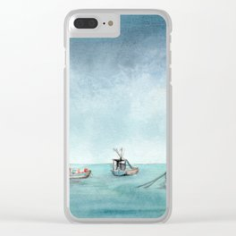 Seaside Clear iPhone Case