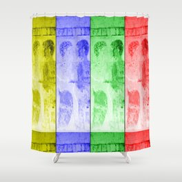 Join to Life Shower Curtain