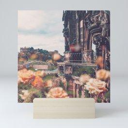 Edinburgh in Bloom Mini Art Print