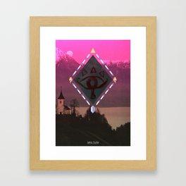 Lake Hylia Framed Art Print