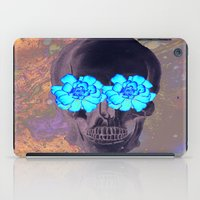 day of the dead iPad Cases featuring Day of the Dead by Charlotte Anderson