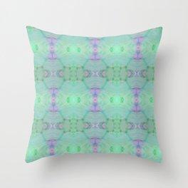 Microbio Gerbera Throw Pillow