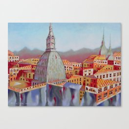 Memory of Turin Canvas Print