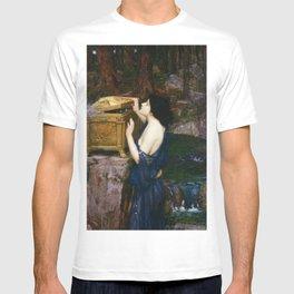 PANDORAS BOX - JOHN WILLIAM WATERHOUSE  T-shirt