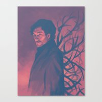 will graham Canvas Prints featuring Will Graham by Beth B