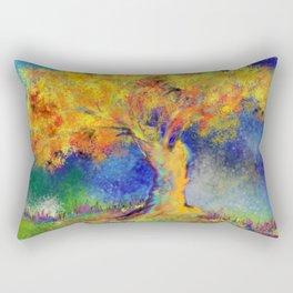 Colorful Tree - s Rectangular Pillow