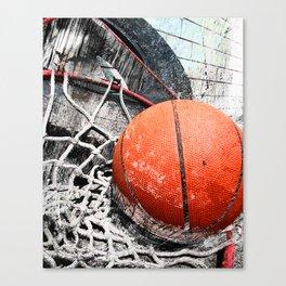 Modern Basketball Art 8 Canvas Print