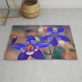 Colorado State Flower Rug
