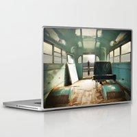 door Laptop & iPad Skins featuring Emergency Door by Rachel Bellinsky