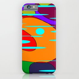 70's Groove iPhone Case