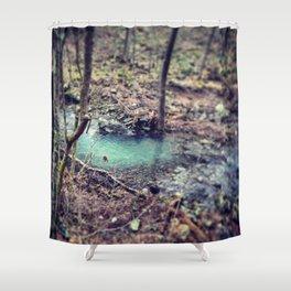 Forest Pond Shower Curtain