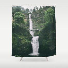 Multnomah Falls III Shower Curtain