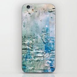 Textured Waves iPhone Skin