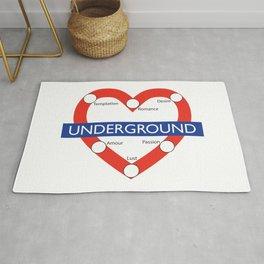 Love Underground Rug