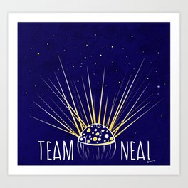 Team Neal Art Print