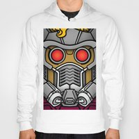 star lord Hoodies featuring Star Lord by Ryan the Foe