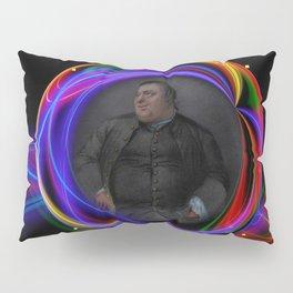 'Do Androids Dream of Electric Sheep?' Contemporary Avant-Garde Portrait Pillow Sham