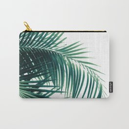 Palm Leaves Green Vibes #6 #tropical #decor #art #society6 Carry-All Pouch