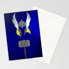 God of Thunder Stationery Cards