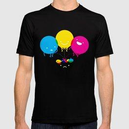 CMY piss K T-shirt