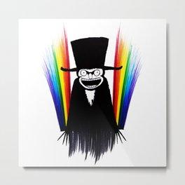 Babadook Gay Pride Metal Print