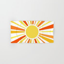 Let the sunshine in Hand & Bath Towel