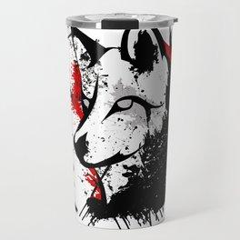 Wolf Okami Travel Mug