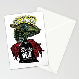 Annunaki Reptilian Reina  Stationery Cards