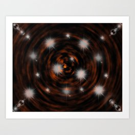Hope Sparkles above the Bottomless Pit Art Print