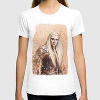 thranduil T-shirts featuring thranduil oropherion by LindaMarieAnson