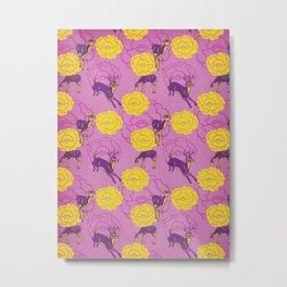 Family of Deer Metal Print