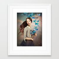 christian Framed Art Prints featuring Set Your Heart Free by Christian Schloe