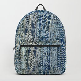 Ndop Cameroon West African Textile Print Backpack