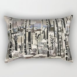 """First Snow"" Rectangular Pillow"