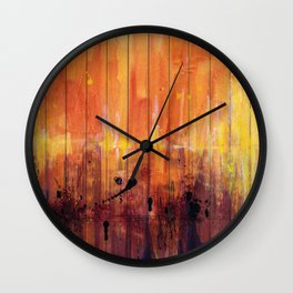Gold Dust Wall Clock