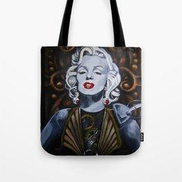Cyborg Marilyn Tote Bag
