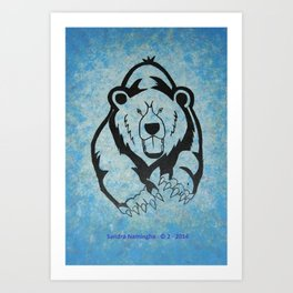 Bear Power 1 Art Print