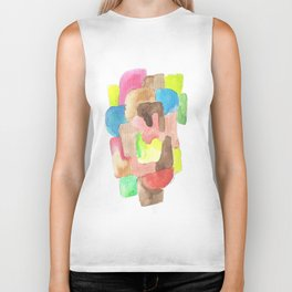 171013 Invaded Space 12|abstract shapes art design |abstract shapes art design colour Biker Tank