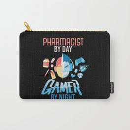 Pharmacist By Day Gamer By Night Carry-All Pouch