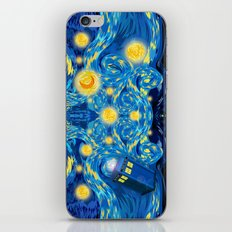Blue Phone box Starry the night iPhone 4 4s 5 5c 6, pillow case, mugs and tshirt iPhone & iPod Skin
