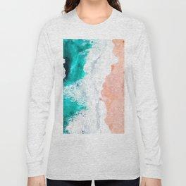 Beach Illustration Long Sleeve T-shirt