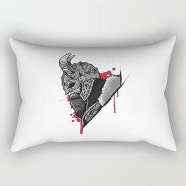 Viking Warrior | Raven Odin Valhalla Valknut Loki Rectangular Pillow